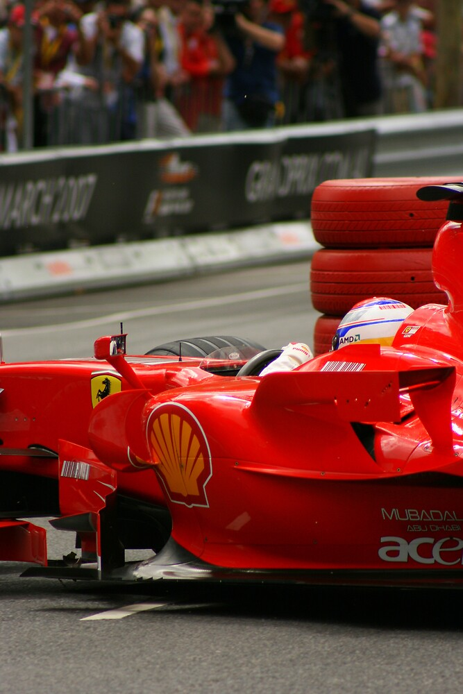 F1 Ferrari  by Chris Putnam