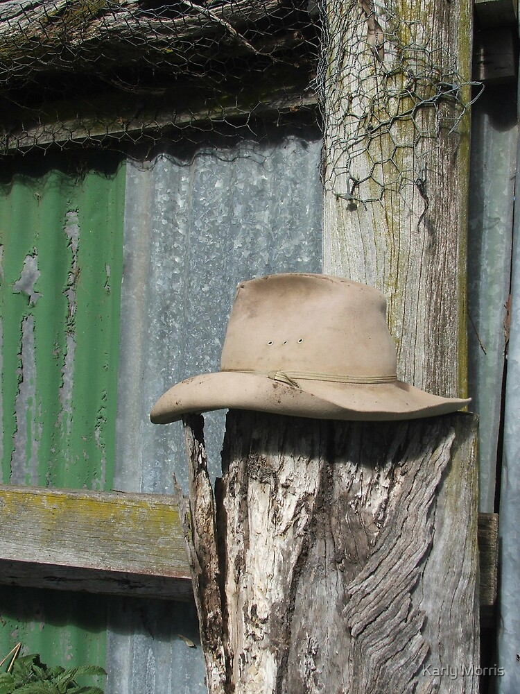 Hat on a Post by Karly Morris