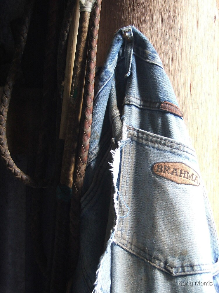 Retired Jeans by Karly Morris