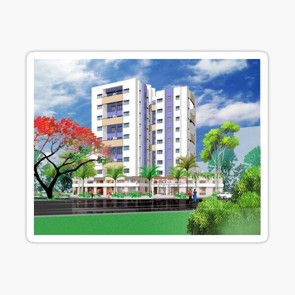 Apartments Sticker