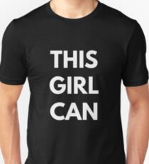 This Girl Can Unisex T-Shirt