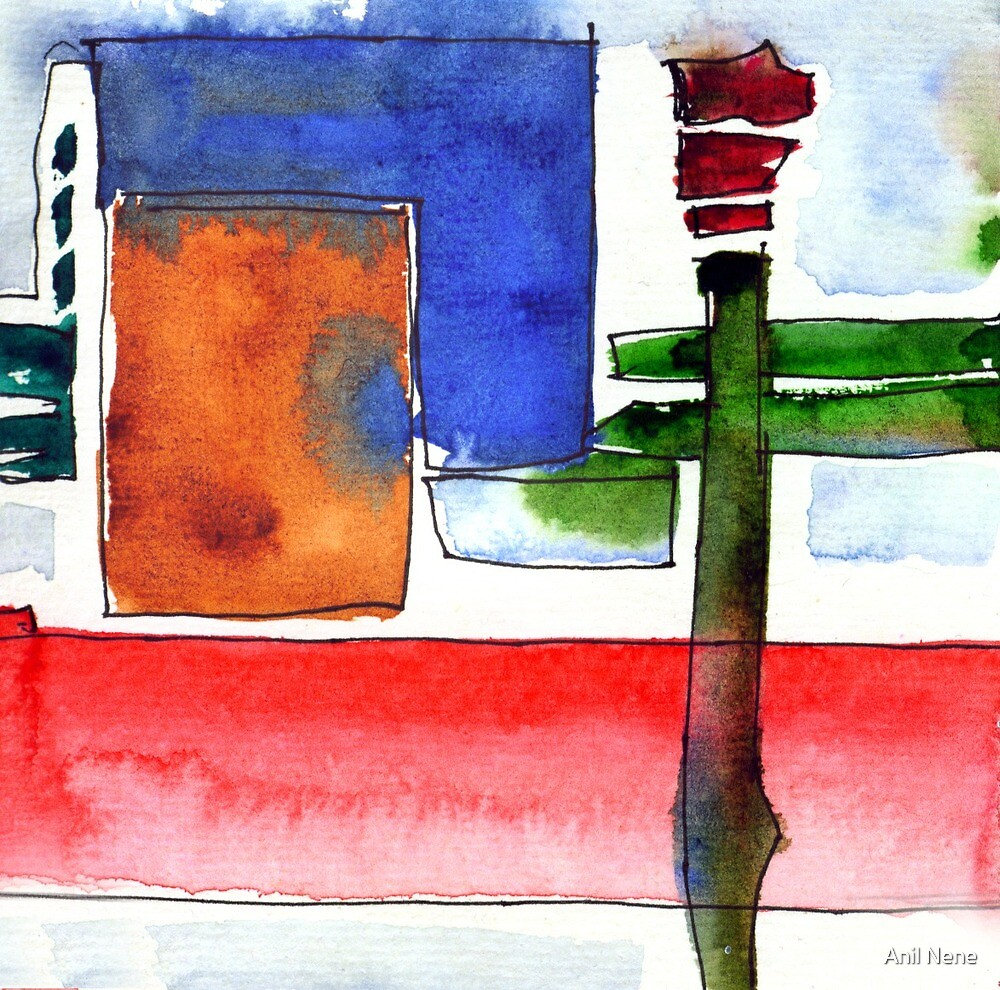 New Abstract by Anil Nene