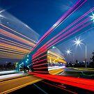 Trucks passing by David Haworth