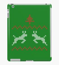 Knit design Christmas iPad Case/Skin