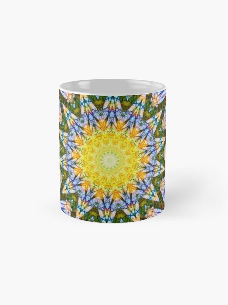 Alternate view of Mandala Sun Mug