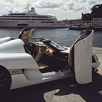 Rich Life Golden Boy Car  by theioander