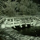 Frozen bridge by drewster