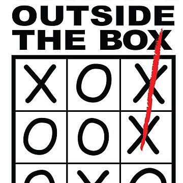 Think Outside The Box by theioander
