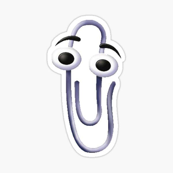 Windows XP PaperClip Sticker