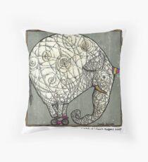 Olifant Throw Pillow