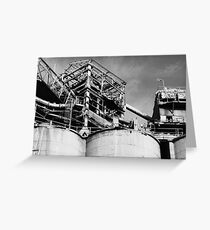 cement works # 1 - superstructure Greeting Card