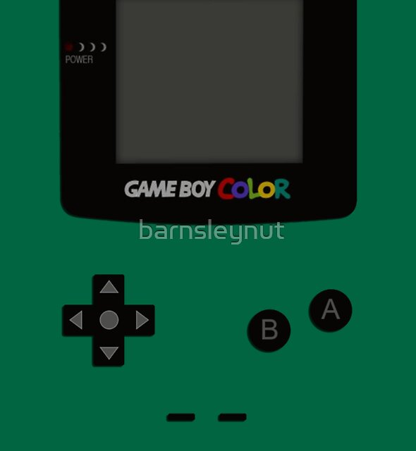 Game Boy Colour Tee by barnsleynut