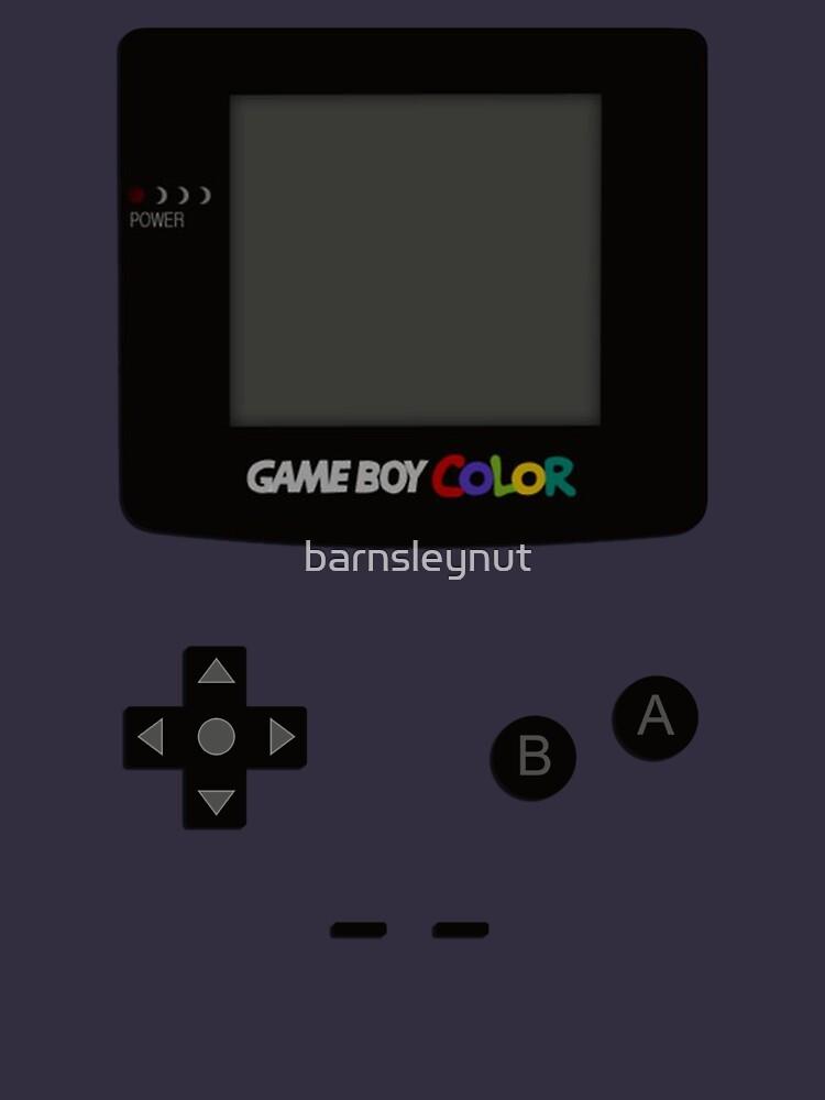 Game Boy Colour Tee by barnsleynut