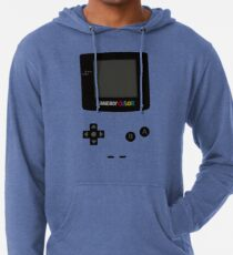 Game Boy Colour Tee Lightweight Hoodie