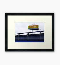 a promise in Footscray Framed Print