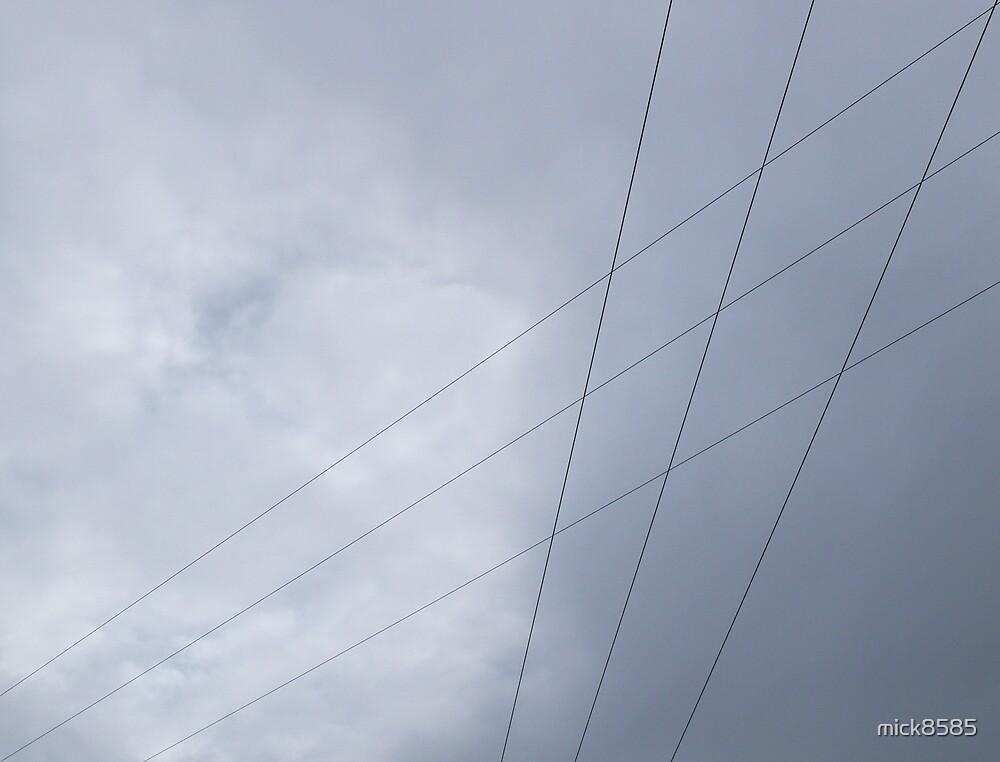 Bushfield power lines by mick8585