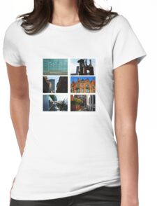 Manchester Typology Womens Fitted T-Shirt