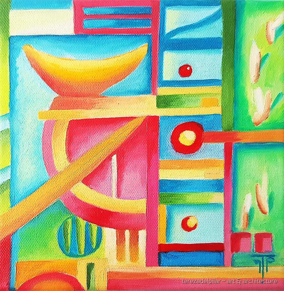 abstract VIII. oil by terezadelpilar ~ art & architecture