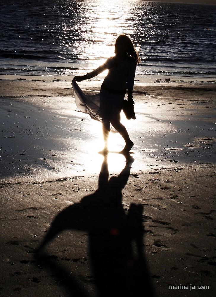 dancing girl by marina janzen