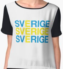SWEDEN Women's Chiffon Top