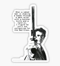 Dirty Harry Charity Sticker