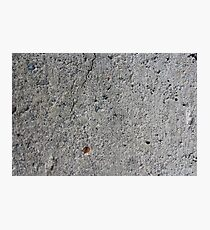 cement Photographic Print