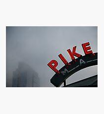Pike Place Market - Seattle, Washington, USA Travel Fog Photographic Print