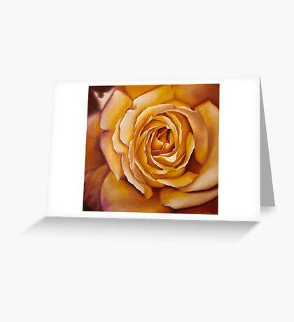 Yellow Rose Carte de vœux