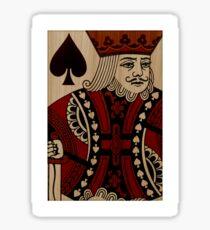 Timber Player - King Sticker