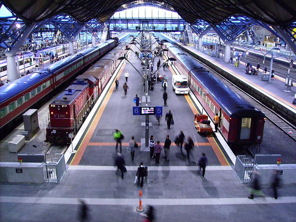 catch that train by Leesa Habener