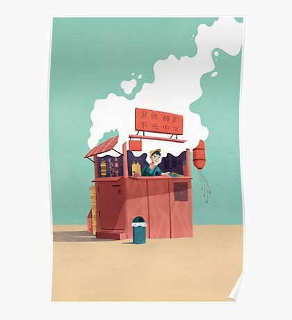 Foodstand Poster
