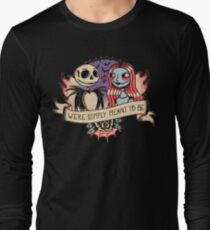 Old school nightmare Long Sleeve T-Shirt