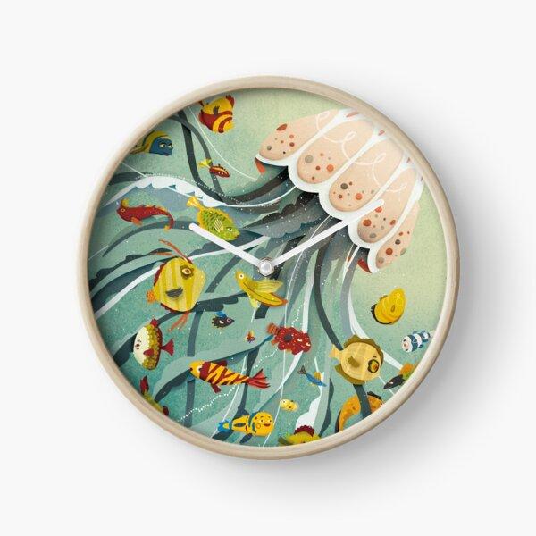 Jelly & Fish Clock