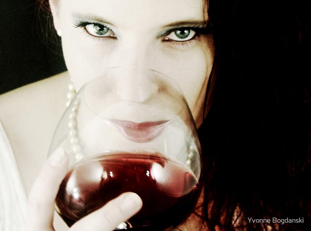 red wine by Yvonne Bogdanski