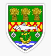 County Down Coat of Arms Sticker