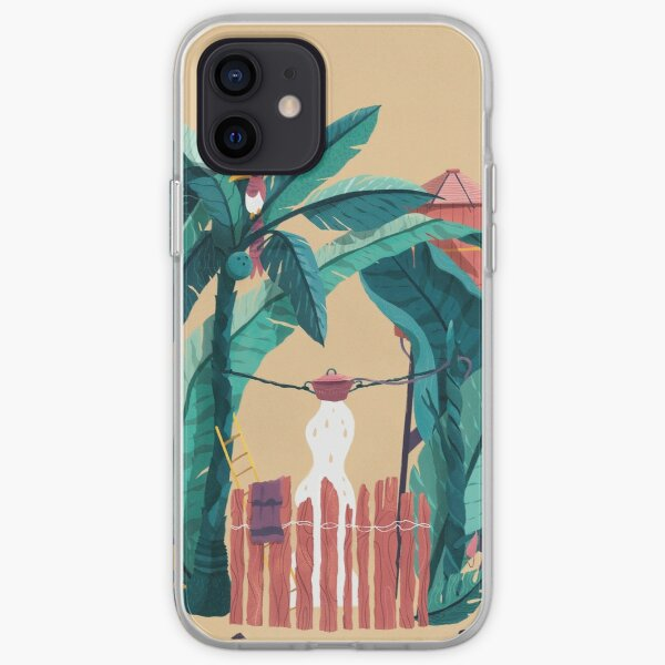 Jungle Shower iPhone Soft Case