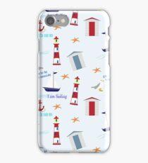 Beside The Seaside iPhone Case/Skin