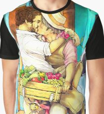 Valentines Hannigram Graphic T-Shirt