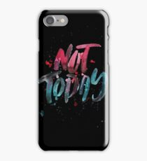 BTS WINGS YNWA - Not Today (Black) iPhone Case/Skin
