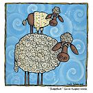 Sheep-stack by Corrie Kuipers