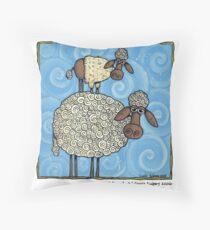 Sheep-stack Throw Pillow