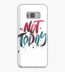 BTS WINGS YNWA - Not Today (White) Samsung Galaxy Case/Skin