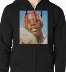 LIL YACHTY REAL YUNG N*GGA FROM THE 6 THROWIN BOWS Zipped Hoodie