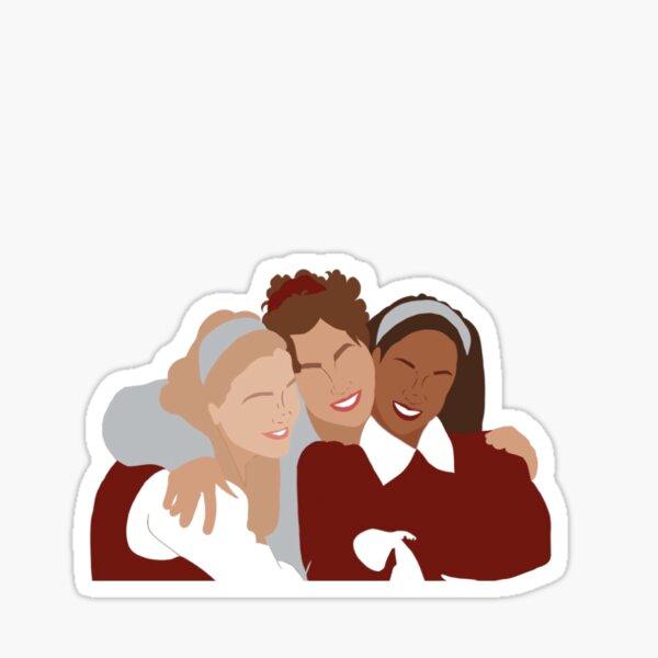 clueless girls design  Sticker