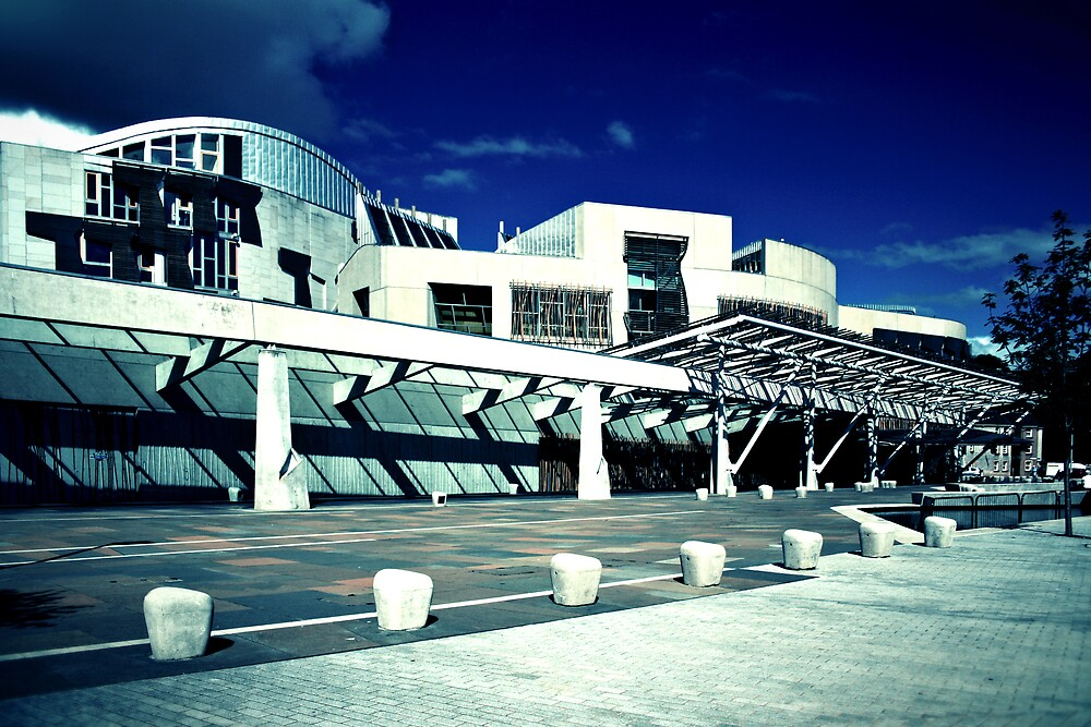 Scottish Parliment by Adrian Richardson