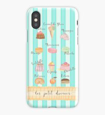 FRENCH MACARONS AND PASTRIES iPhone Case/Skin