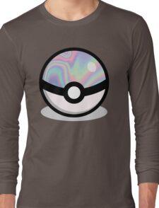 Holographic Pokeball Long Sleeve T-Shirt