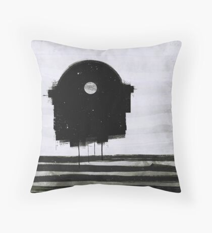 beach 2 (1959 Throw Pillow