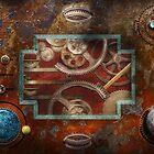 Steampunk - Pandora's box by Michael Savad