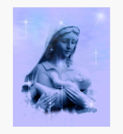 Mary Did You Know Photographic Print